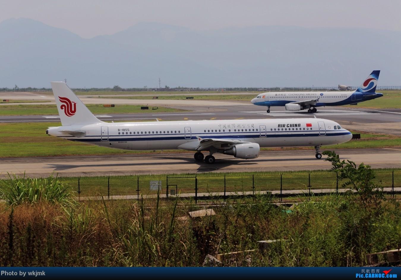 Re:[原创]CKG拍东海公务 AIRBUS A321-200 B-1855 中国重庆江北机场