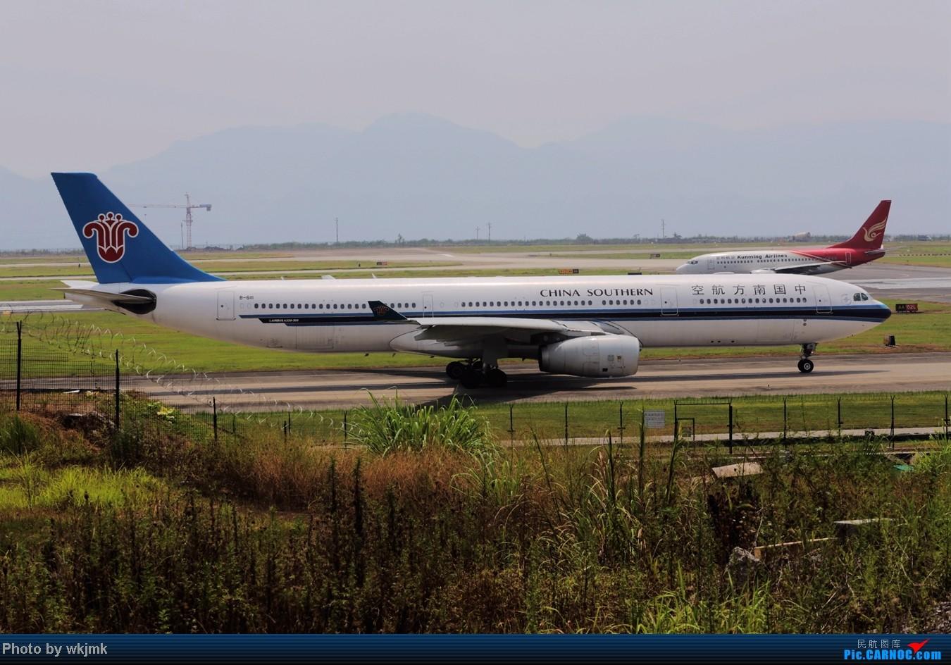 Re:[原创]CKG拍东海公务 AIRBUS A330-300 B-6111 中国重庆江北机场