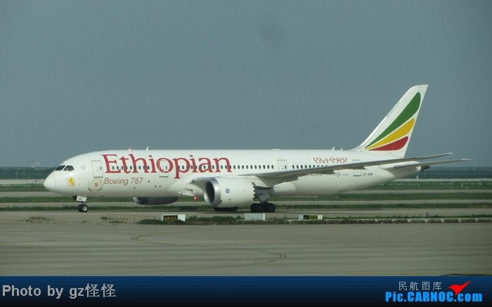 Re:[原创]【小数码拍机】浦东候机随拍 都是小渔村看不到的 这些机型哪家好? BOEING 787-8 ET-ADR 中国上海浦东机场