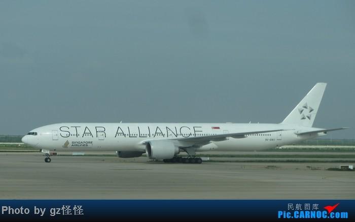 Re:[原创]【小数码拍机】浦东候机随拍 都是小渔村看不到的 这些机型哪家好? BOEING 777-300 9V-SWJ 中国上海浦东机场