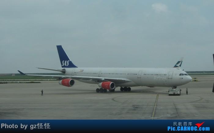 Re:[原创]【小数码拍机】浦东候机随拍 都是小渔村看不到的 这些机型哪家好? AIRBUS A340-300 LN-RKF 中国上海浦东机场