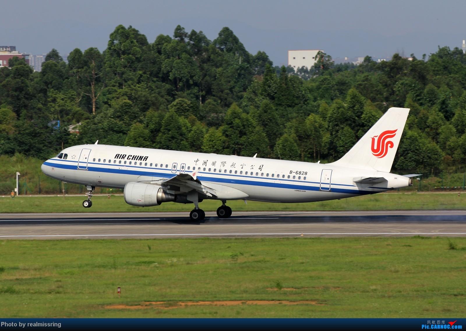 Re:CARNOC成都空港缘分 CTU2跑下午杂图一组 AIRBUS A320-200 B-6828 中国成都双流机场