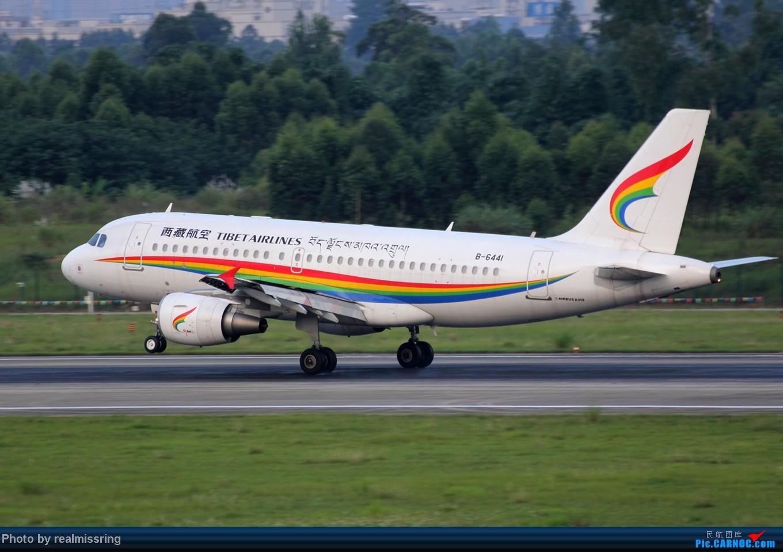 Re:[原创]CARNOC成都空港缘分 只要有光就停不下来ISO从200拍到1600 AIRBUS A319-100 B-6441 中国成都双流机场