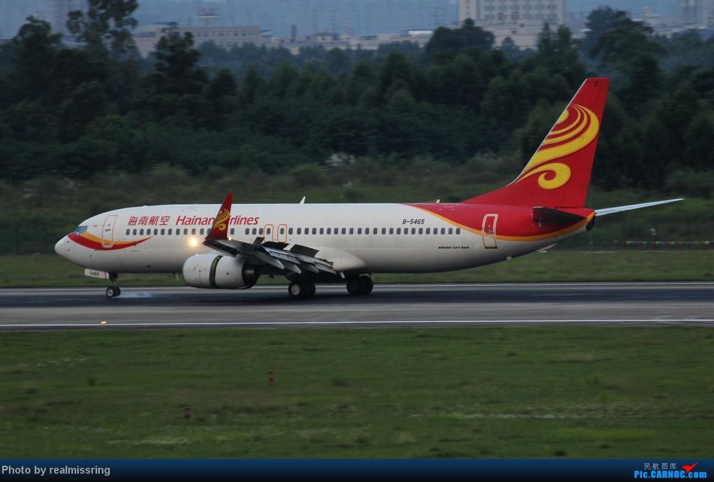 Re:[原创]CARNOC成都空港缘分 只要有光就停不下来ISO从200拍到1600 BOEING 737-800 B-5465 中国成都双流机场