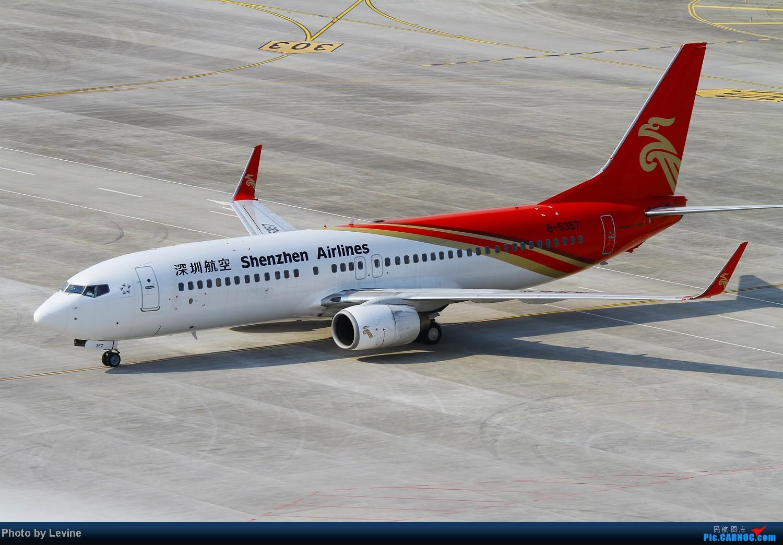 Re:[原创]◇◆◇◆◇◆俯视◇◆◇◆◇◆ BOEING 737-800 B-5357 中国深圳宝安机场