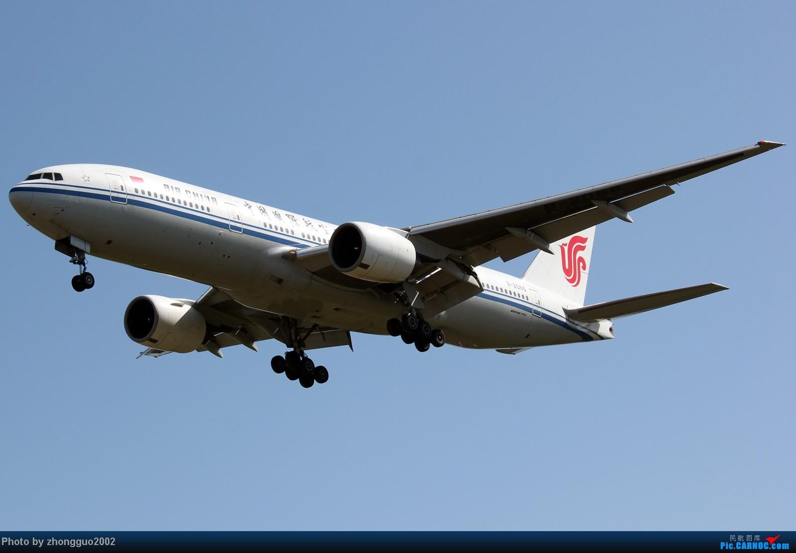 Re:[原创]东航的新邮戳321,世博彩绘机,南航、瑞丽、河北、深圳航空的新飞机,香港航空、长荣航空、远东、韩国济州航空的飞机,国航772,大大小小一堆飞机!!!! BOEING 777-200 B-2068 中国呼和浩特白塔机场