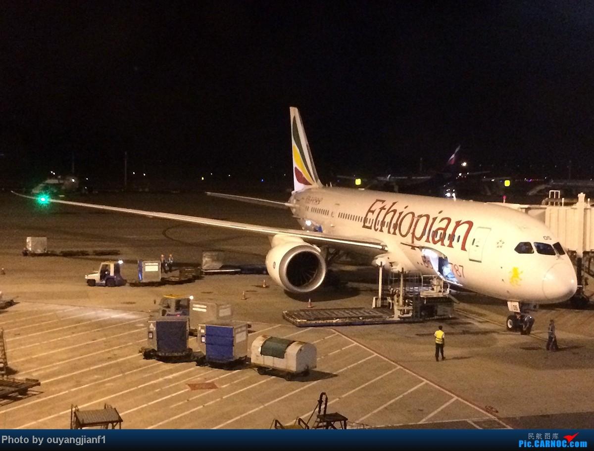 Re:[原创]一次真正的说走就走的旅行,一次真正与动物零距离接触的探险,埃塞俄比亚及肯尼亚游记.... BOEING 787-8 ET-AOS 中国上海浦东机场