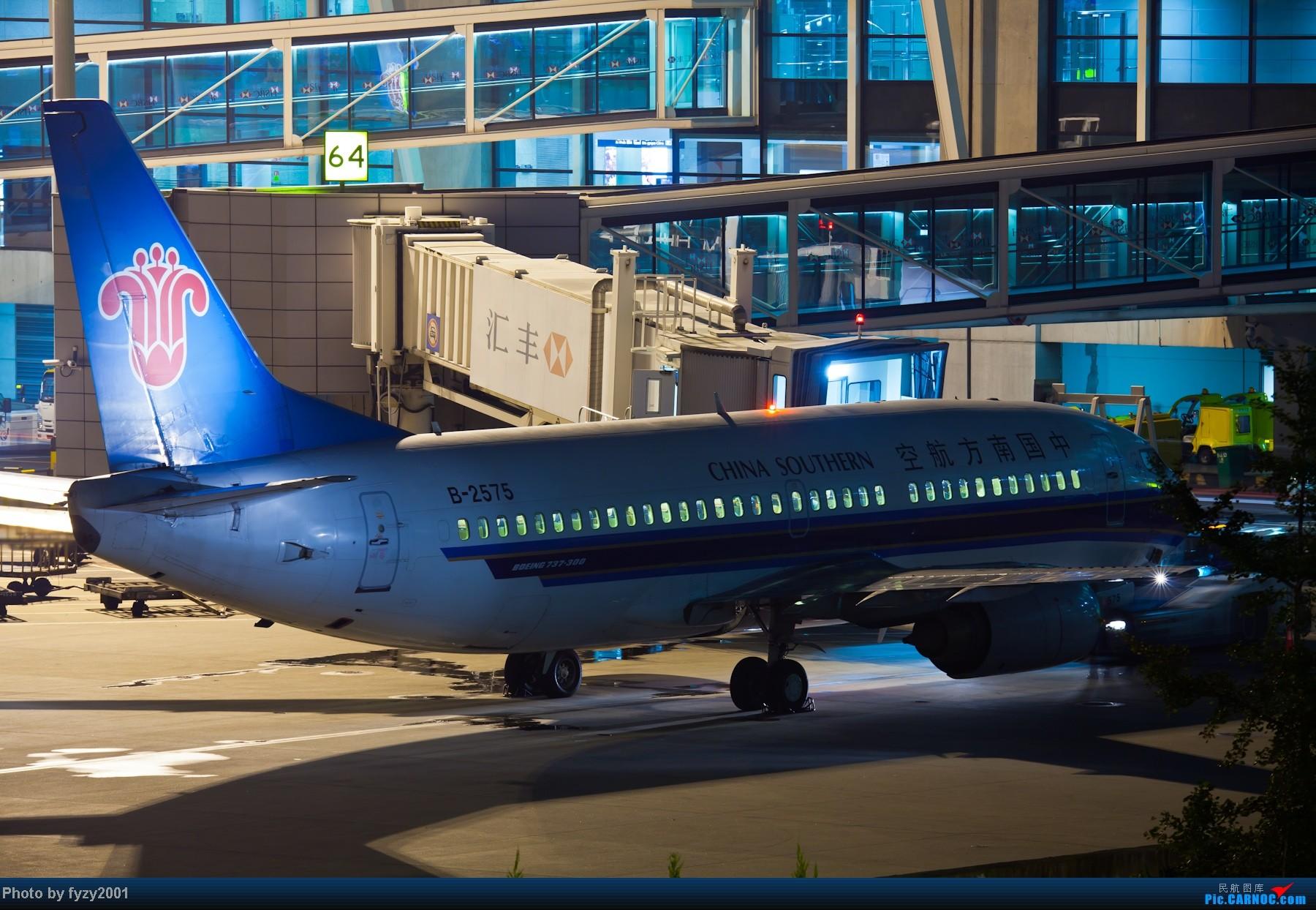 Re:[原创][无锡西站]PVG一些夜景 BOEING 737-300 B-2575 中国上海浦东机场