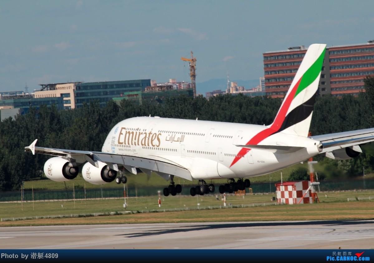 Re:[原创]炒冷饭系列:联邦快递、海航787、A380及埃航在无敌好天气出没首都机场 A380 AE-EDM 中国北京首都机场