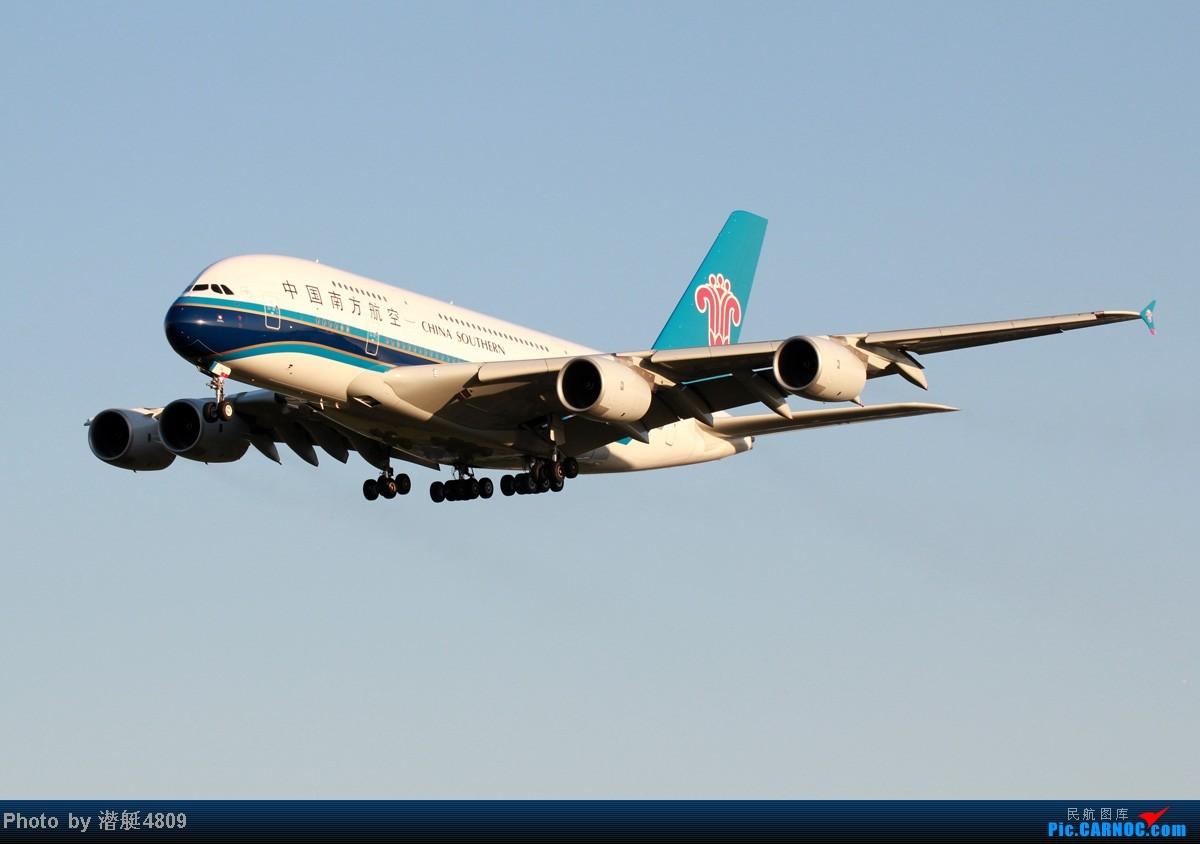 Re:[原创]炒冷饭系列:联邦快递、海航787、A380及埃航在无敌好天气出没首都机场 AIRBUS A380 B-6138 中国北京首都机场
