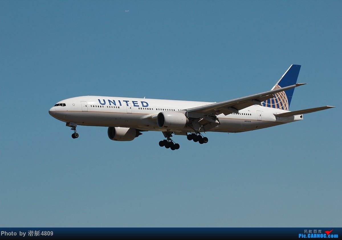 Re:[原创]炒冷饭系列:联邦快递、海航787、A380及埃航在无敌好天气出没首都机场 B777 N222UA 首都机场