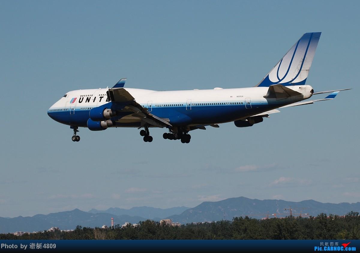 Re:[原创]炒冷饭系列:联邦快递、海航787、A380及埃航在无敌好天气出没首都机场 B747 N181UA 首都机场