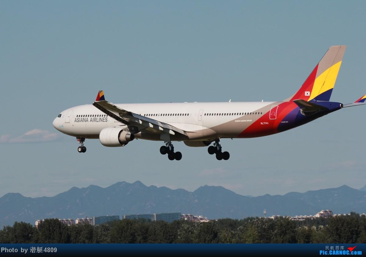 Re:[原创]炒冷饭系列:联邦快递、海航787、A380及埃航在无敌好天气出没首都机场 A330 HL7741 首都机场