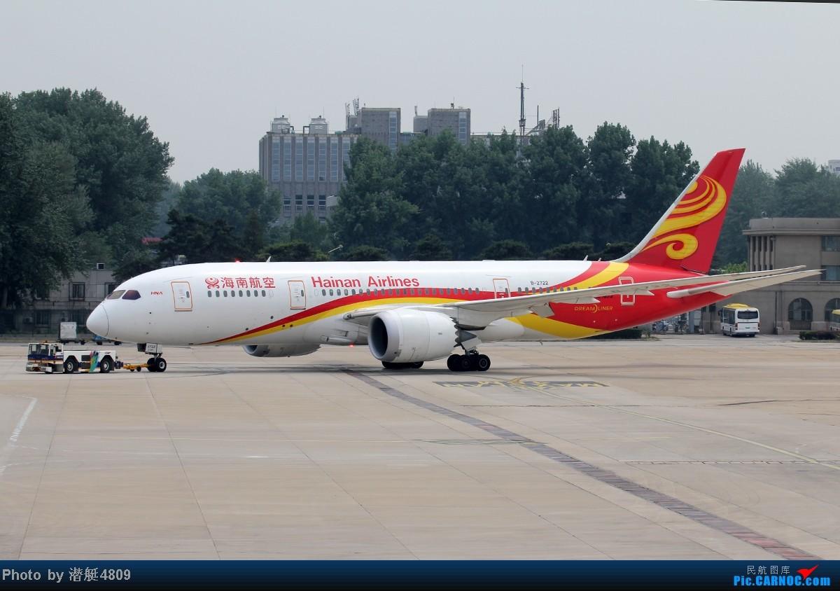Re:[原创]炒冷饭系列:联邦快递、海航787、A380及埃航在无敌好天气出没首都机场 BOEING 787-8 B-2722 中国北京首都机场