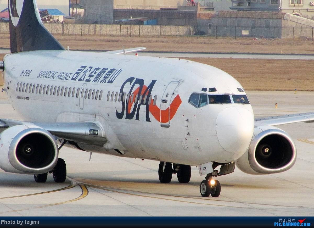 Re:[原创][子安  拍机]——再见!山航B737-300   再见自己的高一暑假—— BOEING 737-300 B-2995 中国烟台莱山机场