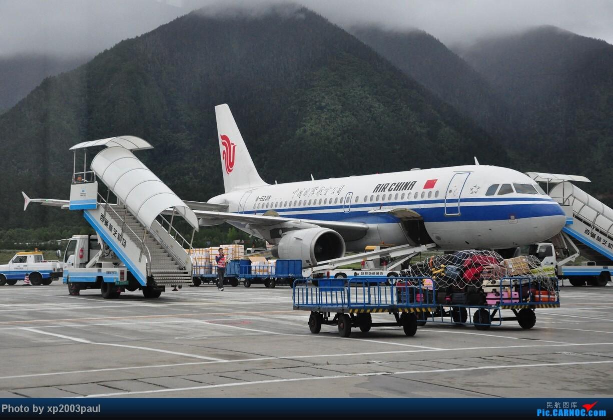 Re:[原创]【VISTA】游记,潜水好久了,第一次在这儿发游记,欢迎捧场(下) AIRBUS A319-100 B-6238 中国林芝米林机场