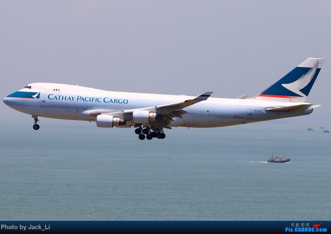 Re:[原创]2014年8月16日 香港机场拍机(第一次去维修区拍机,云们舞集彩绘,飞天熊猫。) BOEING 747-400F B-LIA 中国香港赤鱲角机场