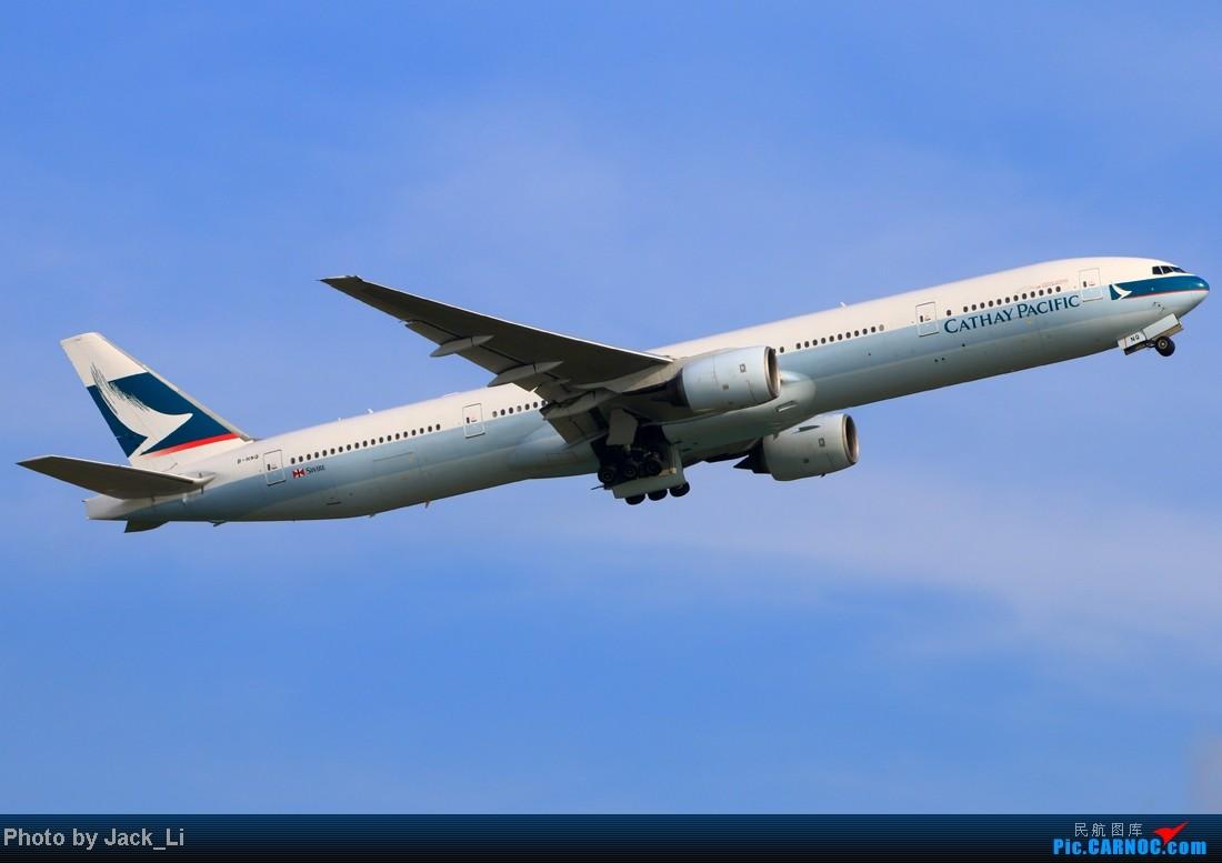 Re:[原创]2014年8月16日 香港机场拍机(第一次去维修区拍机,云们舞集彩绘,飞天熊猫。) BOEING 777-300 B-HNQ 中国香港赤鱲角机场