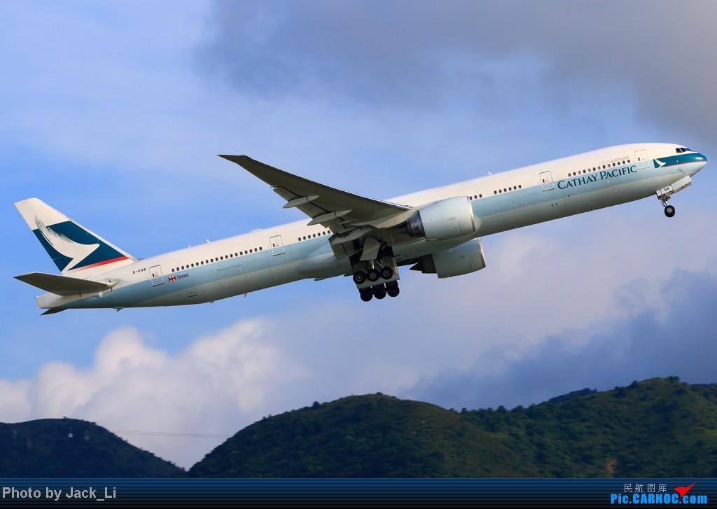 Re:[原创]2014年8月16日 香港机场拍机(第一次去维修区拍机,云们舞集彩绘,飞天熊猫。) BOEING 777-300 B-KQB 中国香港赤鱲角机场