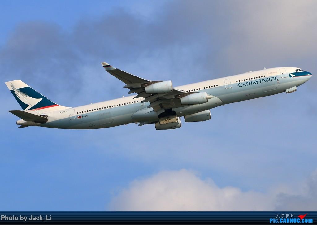 Re:[原创]2014年8月16日 香港机场拍机(第一次去维修区拍机,云们舞集彩绘,飞天熊猫。) AIRBUS A340-300 B-HXC 中国香港赤鱲角机场