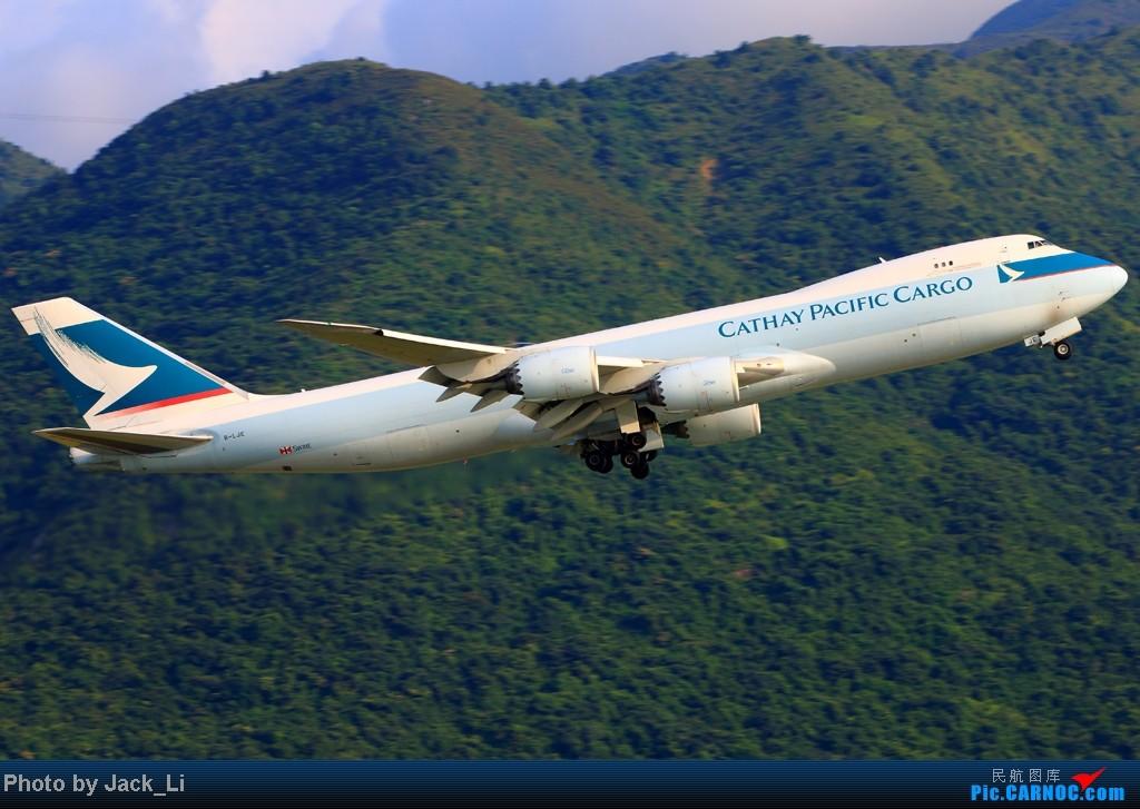 Re:[原创]2014年8月16日 香港机场拍机(第一次去维修区拍机,云们舞集彩绘,飞天熊猫。) BOEING 747-8 B-LJE 中国香港赤鱲角机场