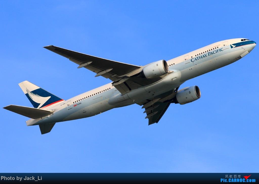 Re:[原创]2014年8月16日 香港机场拍机(第一次去维修区拍机,云们舞集彩绘,飞天熊猫。) BOEING 777-200 B-HNL 中国香港赤鱲角机场