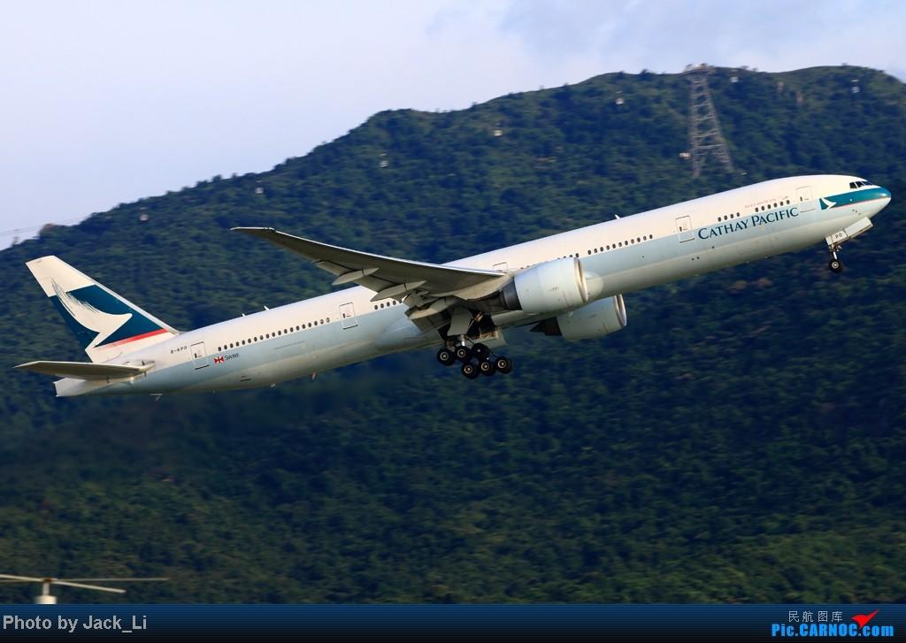 Re:[原创]2014年8月16日 香港机场拍机(第一次去维修区拍机,云们舞集彩绘,飞天熊猫。) BOEING 777-300 B-KPO 中国香港赤鱲角机场