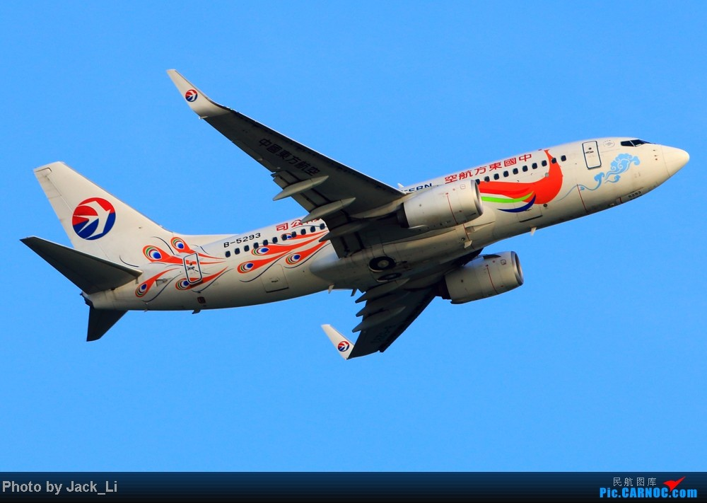 Re:[原创]2014年8月16日 香港机场拍机(第一次去维修区拍机,云们舞集彩绘,飞天熊猫。) BOEING 737-700 B-5293 中国香港赤鱲角机场