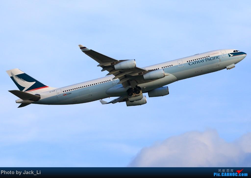 Re:[原创]2014年8月16日 香港机场拍机(第一次去维修区拍机,云们舞集彩绘,飞天熊猫。) AIRBUS A340-300 B-HXB 中国香港赤鱲角机场
