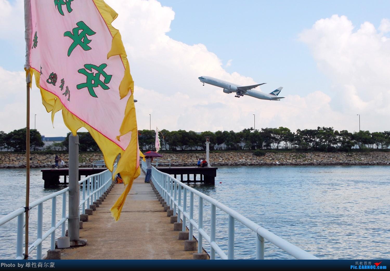 [原创]香港机场沙螺湾村观机小记    中国香港赤鱲角机场