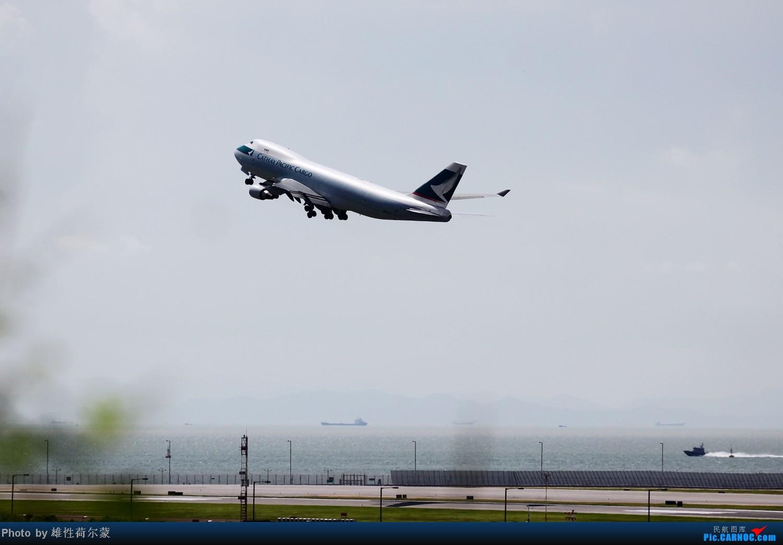 Re:[原创]香港机场沙螺湾村观机小记 BOEING 747-400 B-LIE 中国香港赤鱲角机场