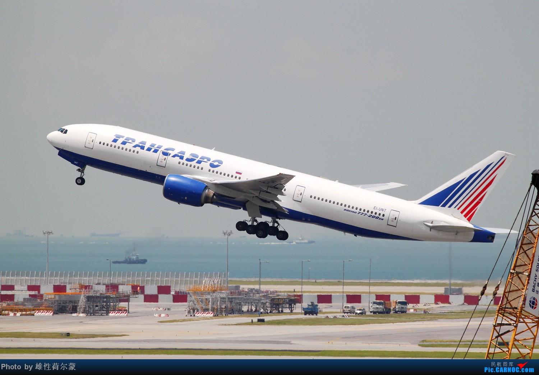 Re:[原创]香港机场沙螺湾村观机小记 BOEING 777-200 EI-UNT 中国香港赤鱲角机场