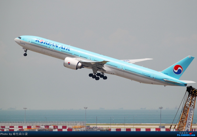 Re:[原创]香港机场沙螺湾村观机小记 BOEING 777-300ER HL8218 中国香港赤鱲角机场