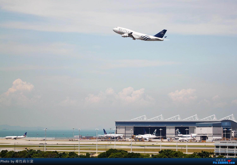 Re:[原创]香港机场沙螺湾村观机小记 BOEING 747-400 B-18206 中国香港赤鱲角机场
