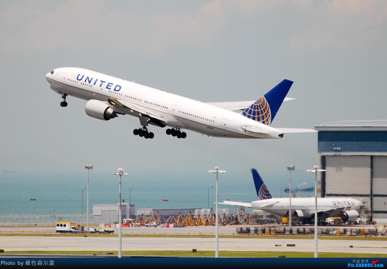 Re:[原创]香港机场沙螺湾村观机小记 BOEING 777-200 N216UA 中国香港赤鱲角机场