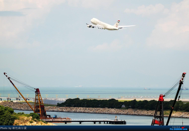 Re:[原创]香港机场沙螺湾村观机小记 BOEING 747-8F N855GT 中国香港赤鱲角机场
