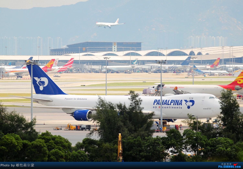 Re:[原创]香港机场沙螺湾村观机小记 BOEING 747-8F  中国香港赤鱲角机场