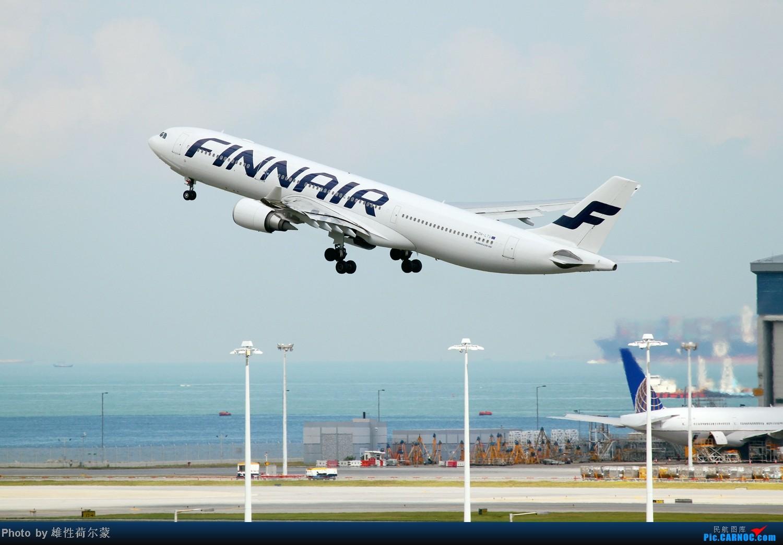 Re:[原创]香港机场沙螺湾村观机小记 AIRBUS A330-300 OH-LTU 中国香港赤鱲角机场