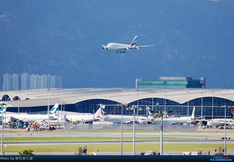 Re:[原创]香港机场沙螺湾村观机小记 AIRBUS A380-800  中国香港赤鱲角机场