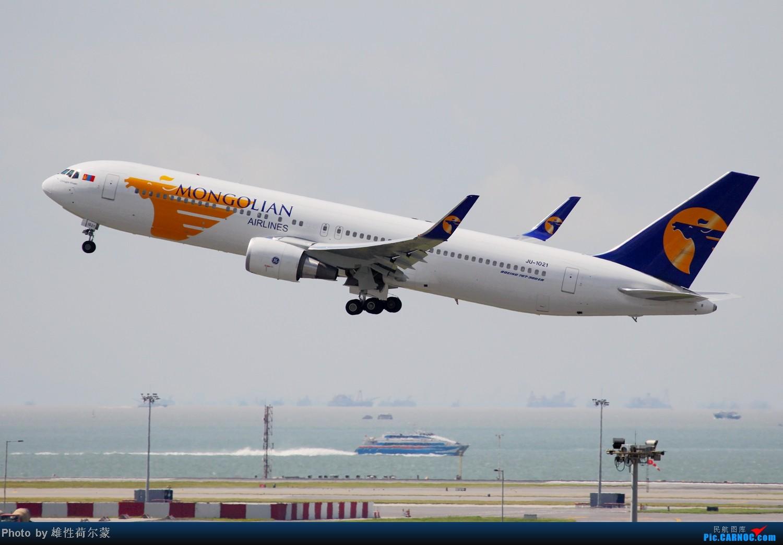 Re:[原创]香港机场沙螺湾村观机小记 BOEING 767-300 JU-1021 中国香港赤鱲角机场