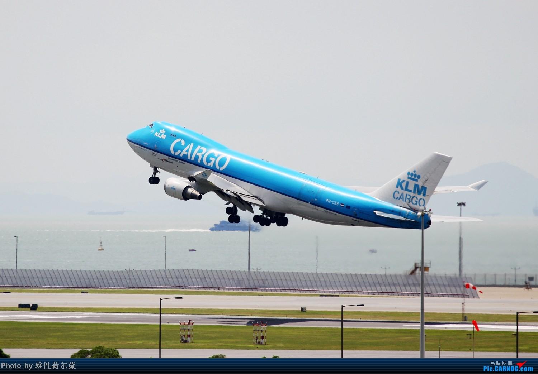 Re:[原创]香港机场沙螺湾村观机小记 BOEING 747-400F PH-CKB 中国香港赤鱲角机场