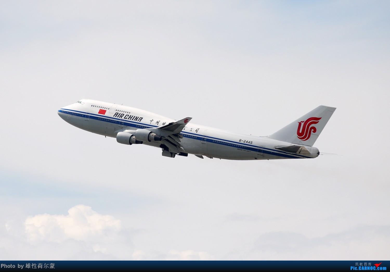 Re:[原创]香港机场沙螺湾村观机小记 BOEING 747-400 B-2445 中国香港赤鱲角机场