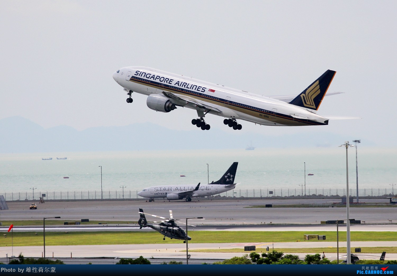 Re:[原创]香港机场沙螺湾村观机小记 BOEING 777-200 9V-SRQ 中国香港赤鱲角机场