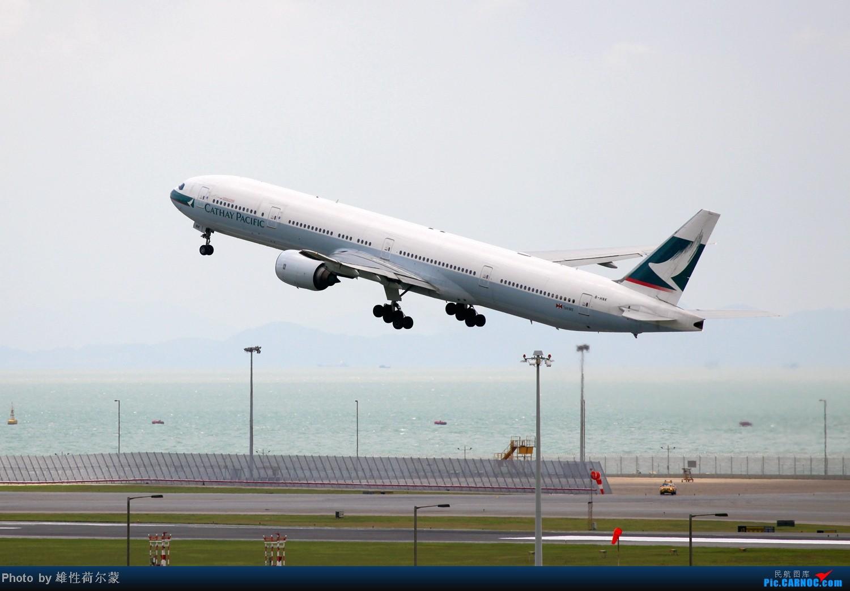 Re:[原创]香港机场沙螺湾村观机小记 BOEING 777-300 B-HNK 中国香港赤鱲角机场