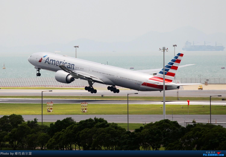 Re:[原创]香港机场沙螺湾村观机小记 BOEING 777-300ER N721AN 中国香港赤鱲角机场