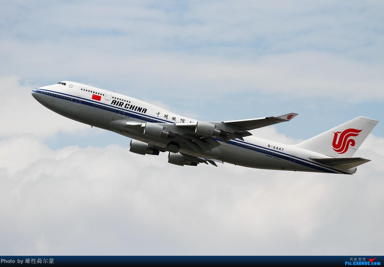 Re:[原创]香港机场沙螺湾村观机小记 BOEING 747-400 B-2447 中国香港赤鱲角机场