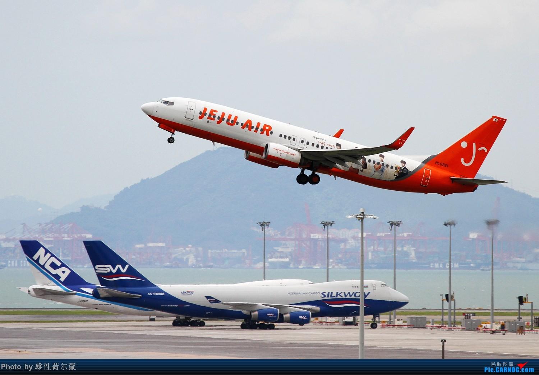 Re:[原创]香港机场沙螺湾村观机小记 BOEING 737-800 HL8261 中国香港赤鱲角机场