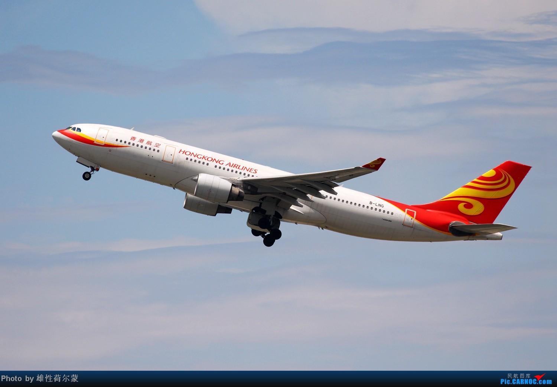 Re:[原创]香港机场沙螺湾村观机小记 AIRBUS A330-200 B-LNG 中国香港赤鱲角机场