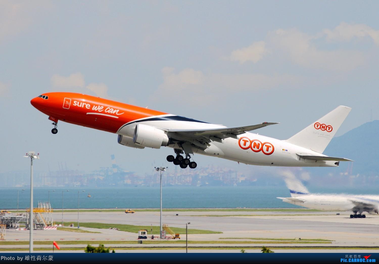 Re:[原创]香港机场沙螺湾村观机小记 BOEING 777F OO-TSA 中国香港赤鱲角机场