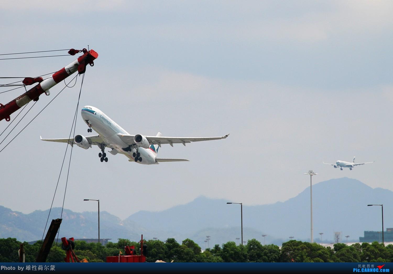Re:[原创]香港机场沙螺湾村观机小记 AIRBUS A330-300 B-LAH 中国香港赤鱲角机场
